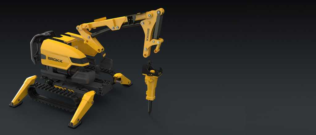 Brokk Demolition Bot